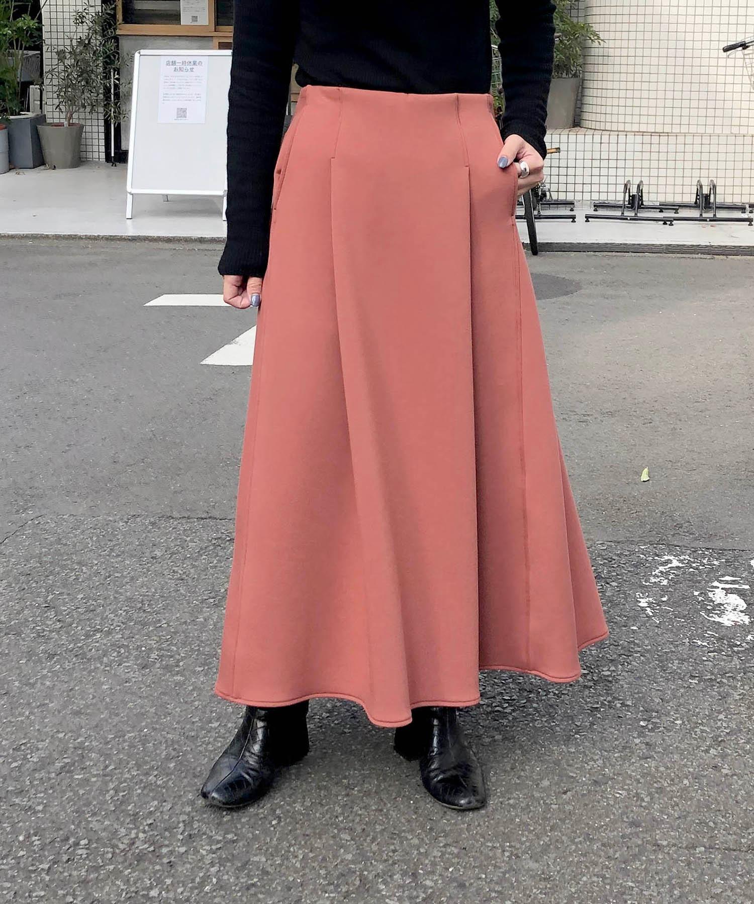 【Made in Japan】【軽量素材】 エアーダンボールニットスカート