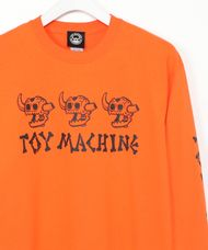 トイマシーン TOY MACHINE / DEAD MONSTER LONG TEE