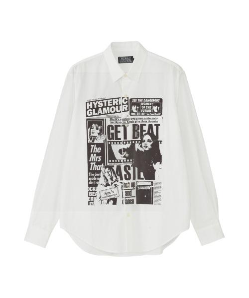 DAILY HYSTERIC レギュラーカラーシャツ