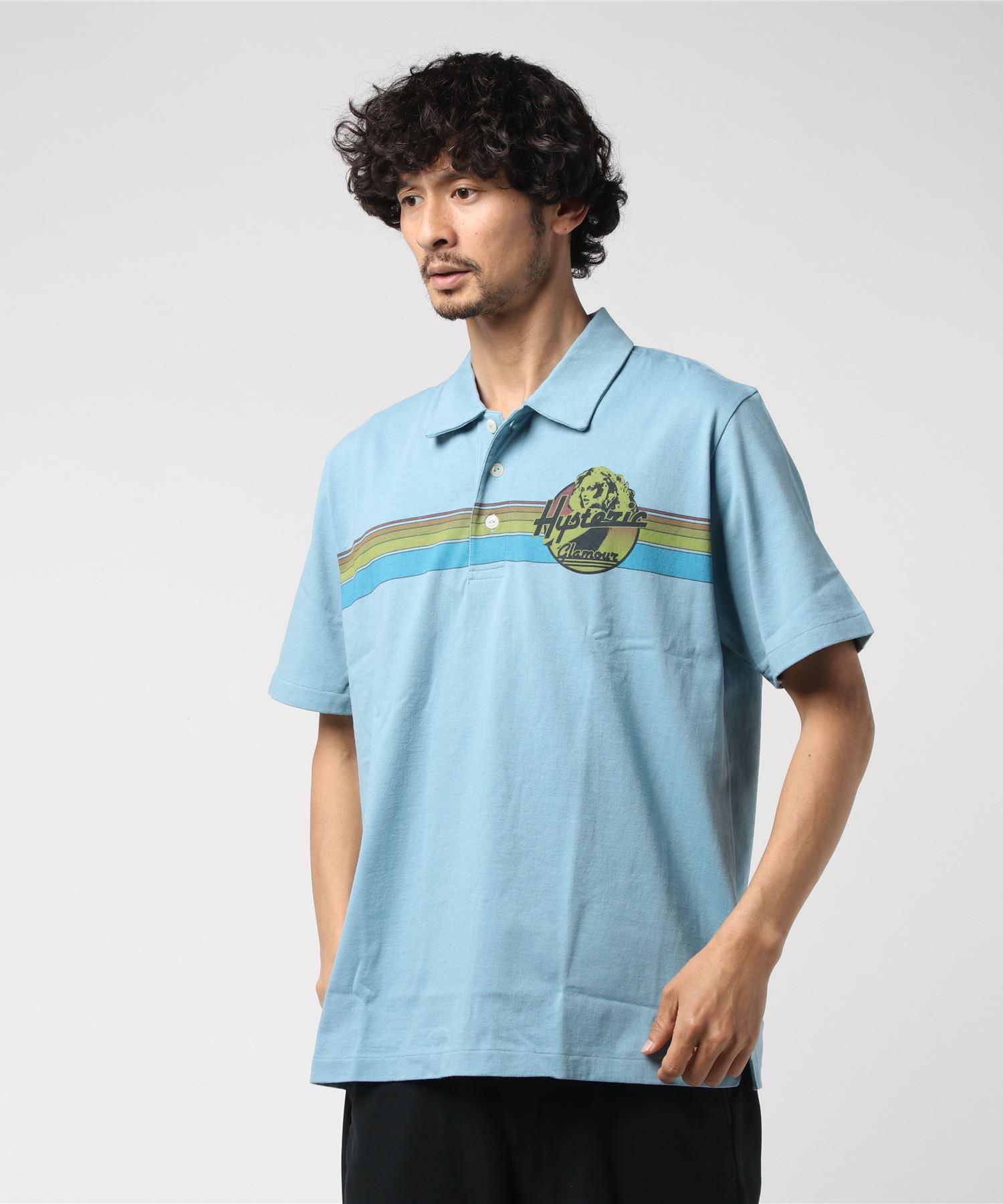 SUNSET HORIZON pt ポロシャツ