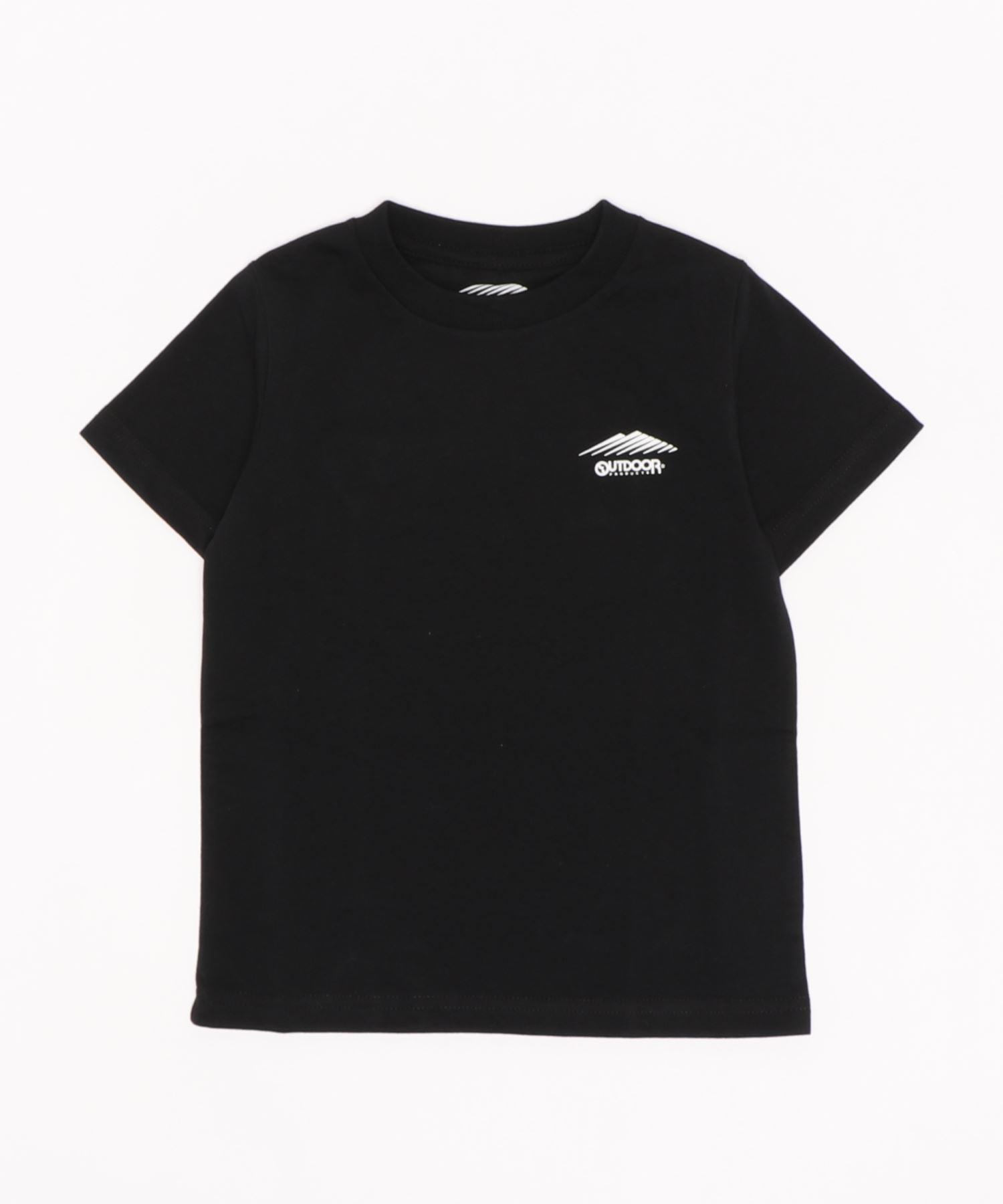 DRY加工(速乾機能) キッズ ワンポイントブランドロゴ入り Tシャツ