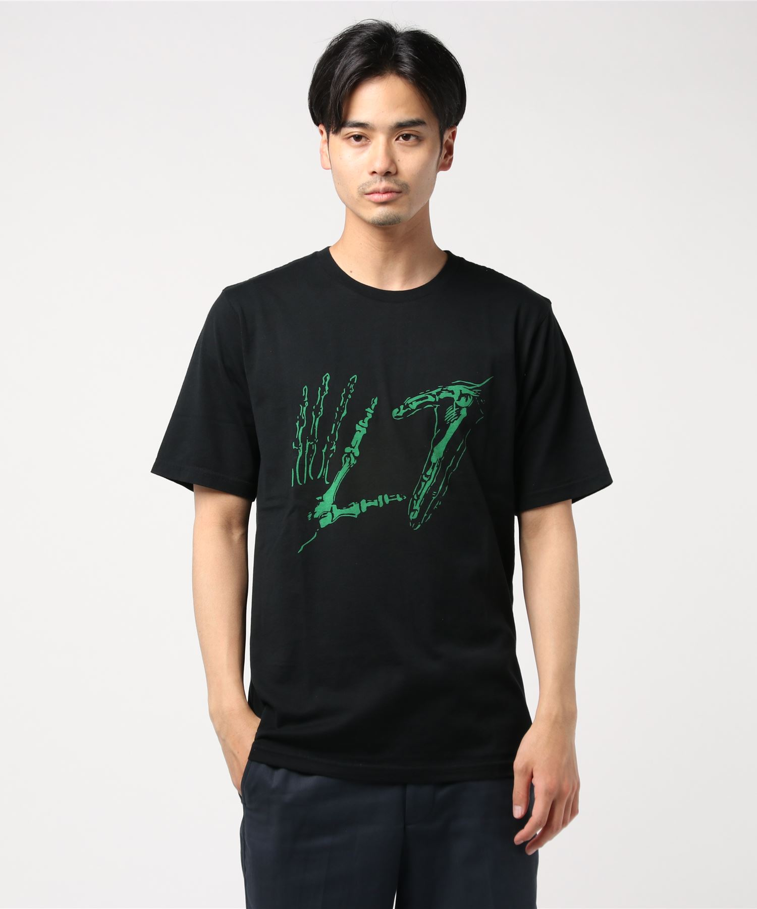 L7/HANDS LOGO pt Tシャツ