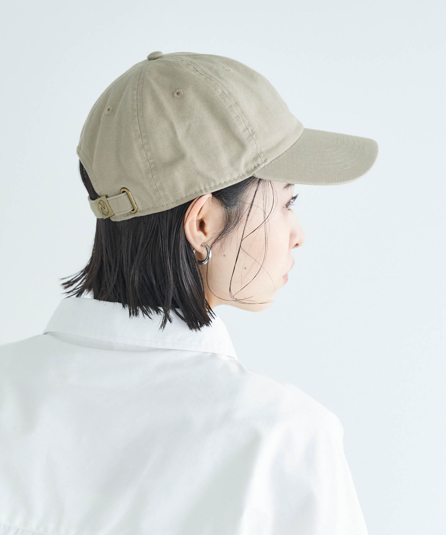 【newhattan】 ニューハッタン キャップ STONE WASHED TWILL CAP