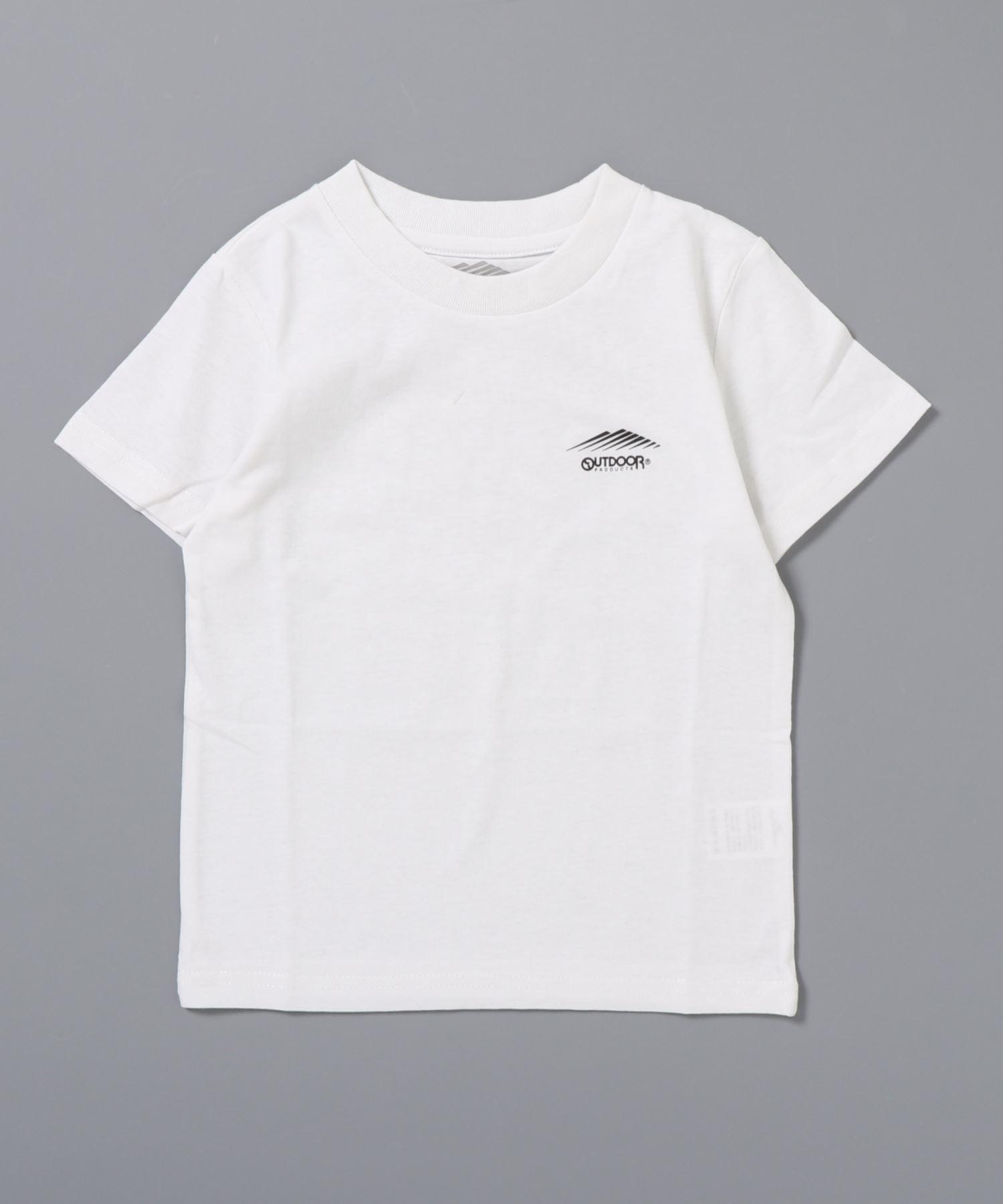 防蚊加工  キッズ ワンポイントブランドロゴ入り Tシャツ