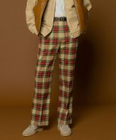 <monkey time> TR MINI CHECK WIDE BOOT CUT/チェックパンツ