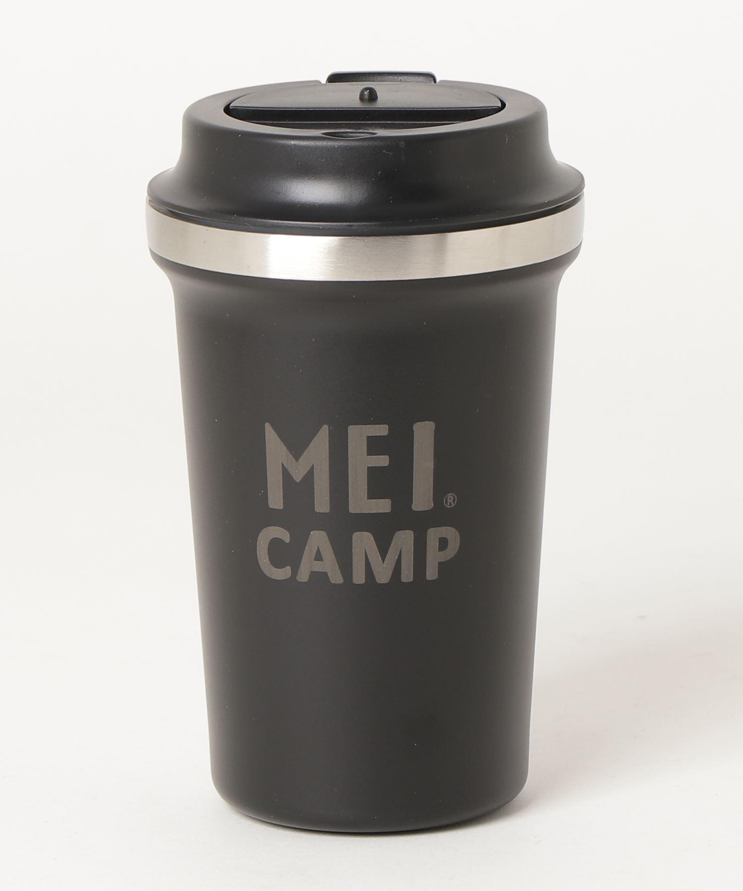 【 MEI CAMP / メイキャンプ 】 コーヒータンブラー 蓋付 ステンレス
