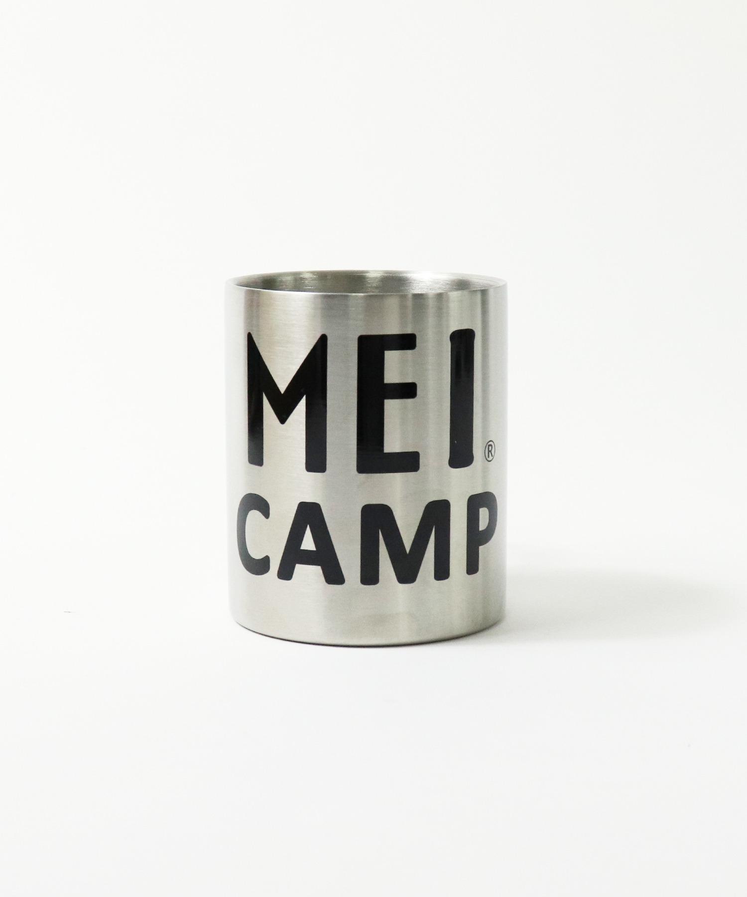 【 MEI CAMP / メイキャンプ 】 カラビナハンドルステンレスマグ マグカップ