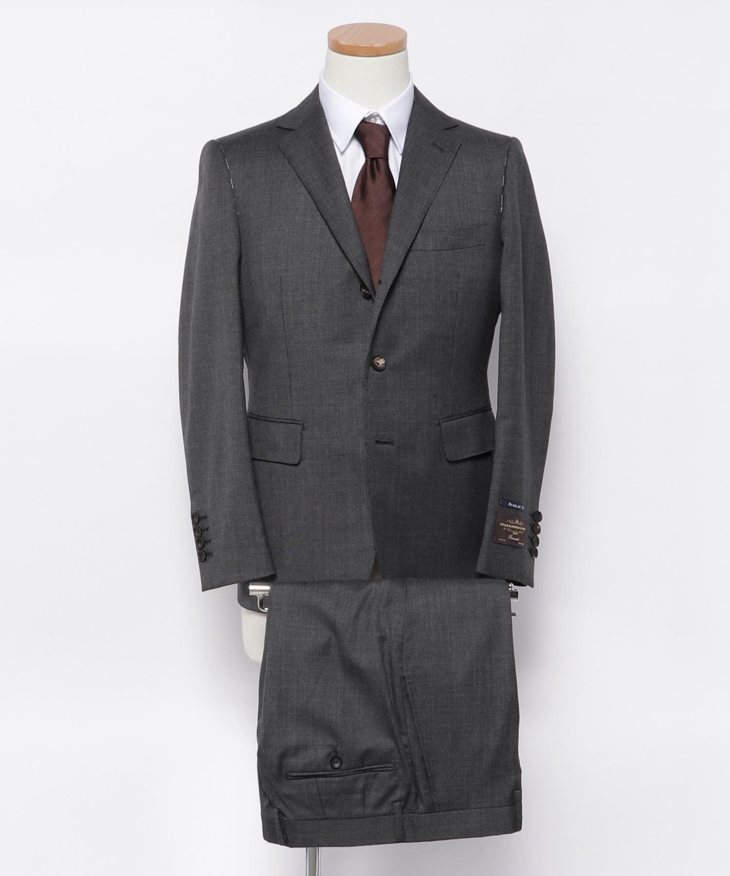 CANONICO 段返り3釦スーツ