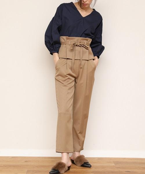 【STYLEBAR】ビスチェ風コルセットデザインパンツ