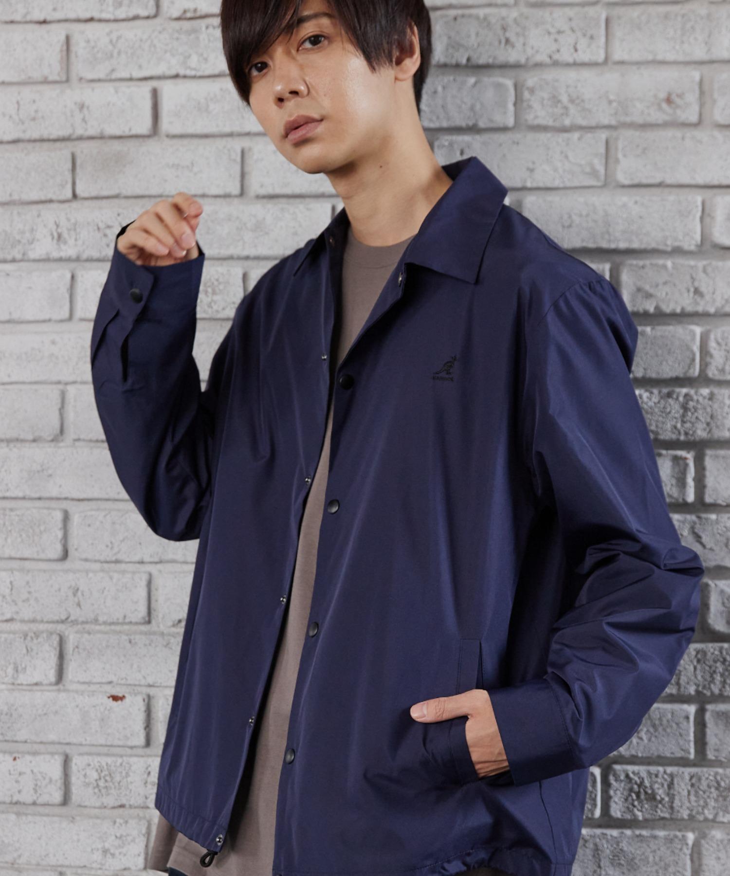 ▽WEB限定 MONO-MART×KANGOL 別注 オーバーサイズ コーチジャケット
