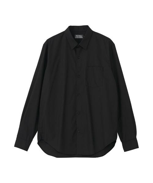 TYPE LOGO レギュラーカラーシャツ