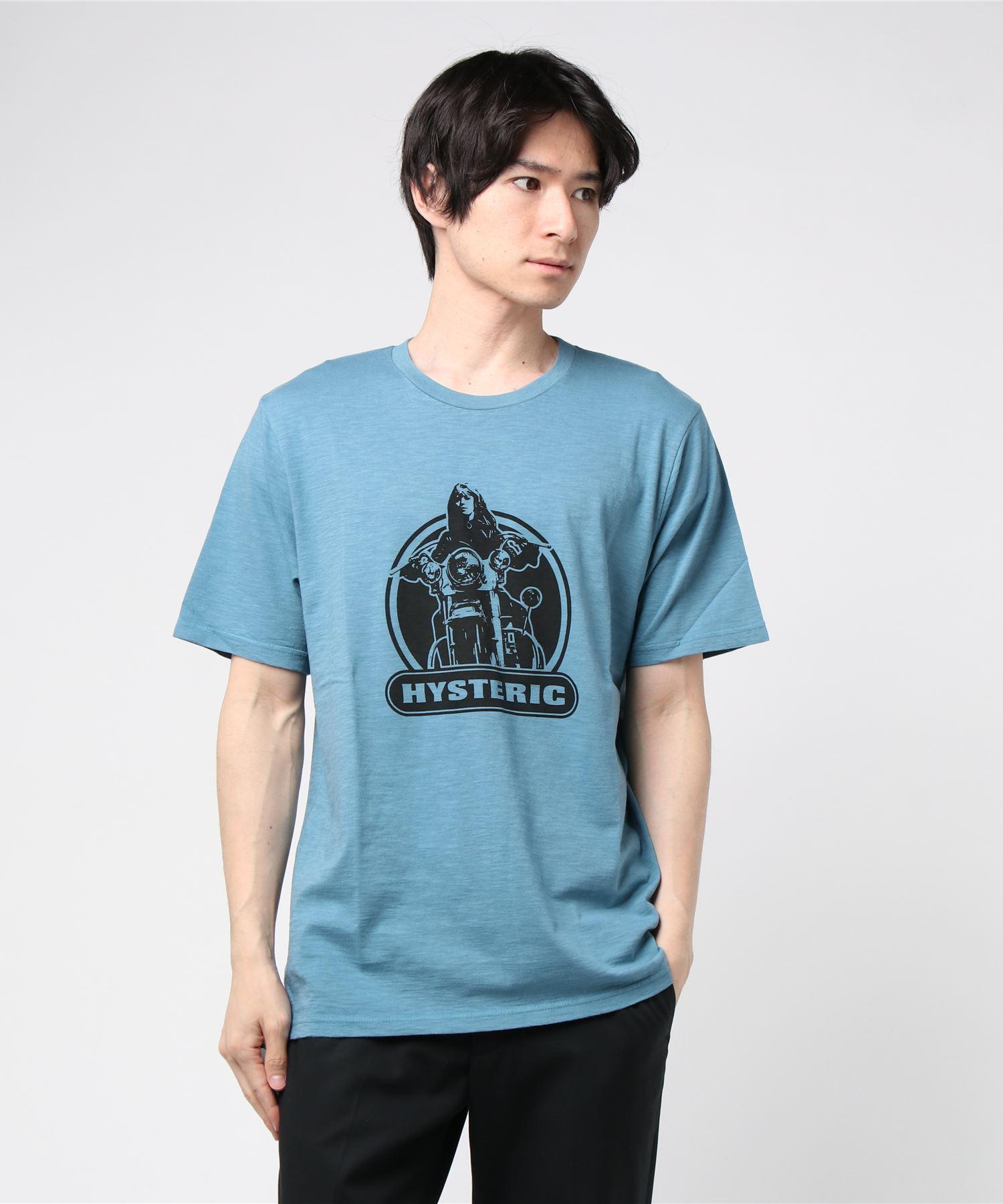 BIKE GIRL pt Tシャツ