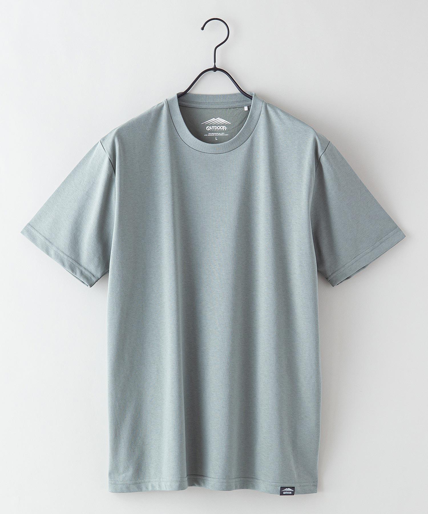 ドライ機能付き(速乾機能)ワンポイントブランドロゴ/ピスネーム付き/ビッグシルエット/無地Tシャツ
