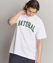 <PEACE&QUIET (ピース&クワイエット)> NATURAL T/Tシャツ