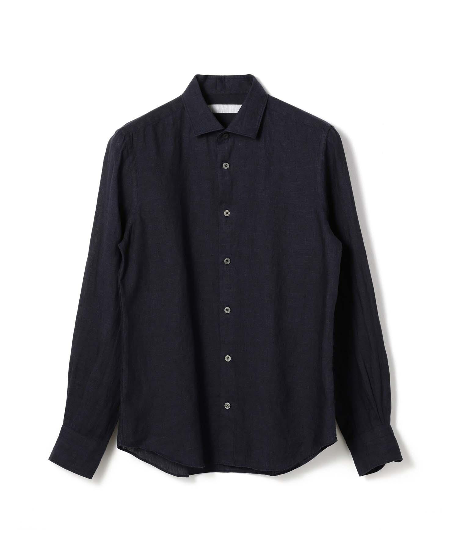 ESTNATION レギュラーカラーリネンシャツ
