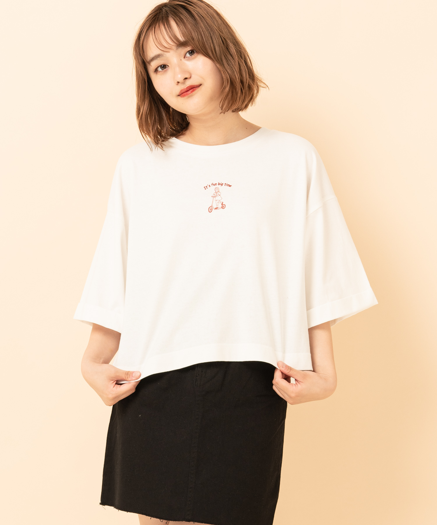 BACKゆるptTee