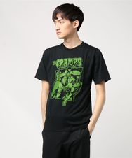 THE CRAMPS/FLYMAN pt Tシャツ