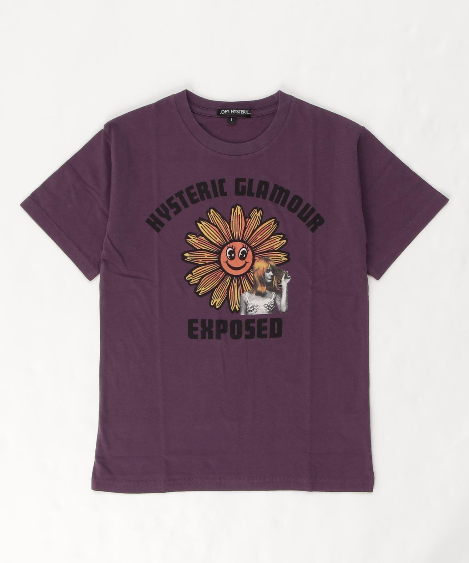 FLOWER POWER Tシャツ【L】