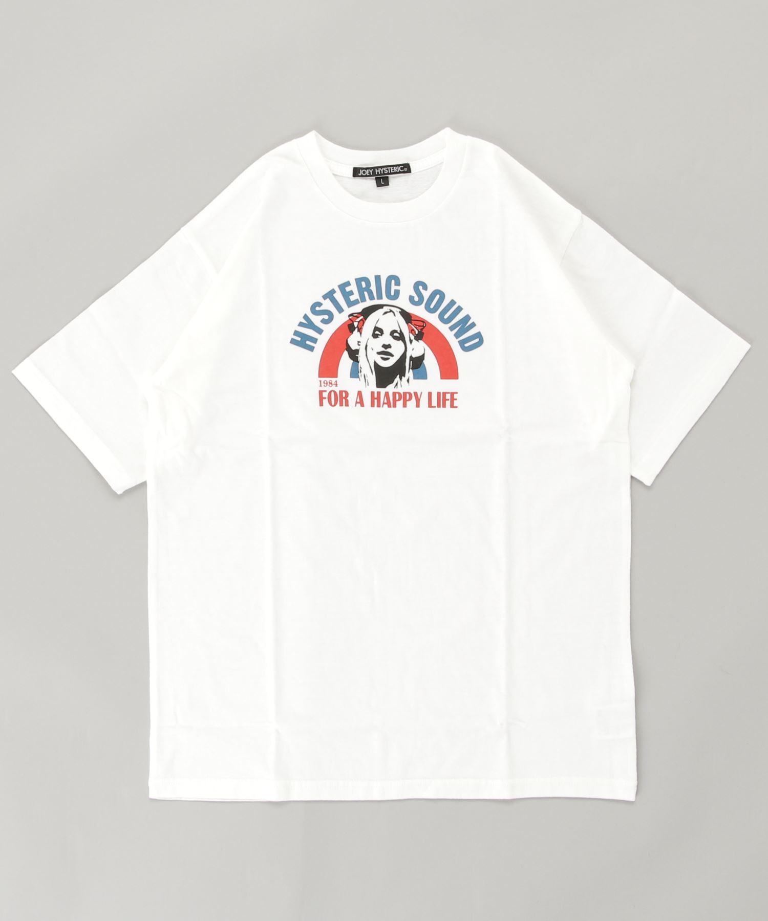 FOR HAPPY LIFE オーバーサイズTシャツ【L】