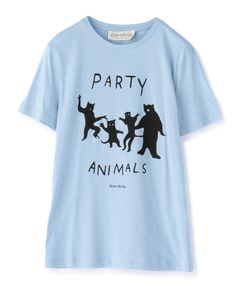 "ETRE CECILE / ""party animals"" カットソー"
