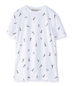 "ETRE CECILE / ""eiffel tower"" カットソー"