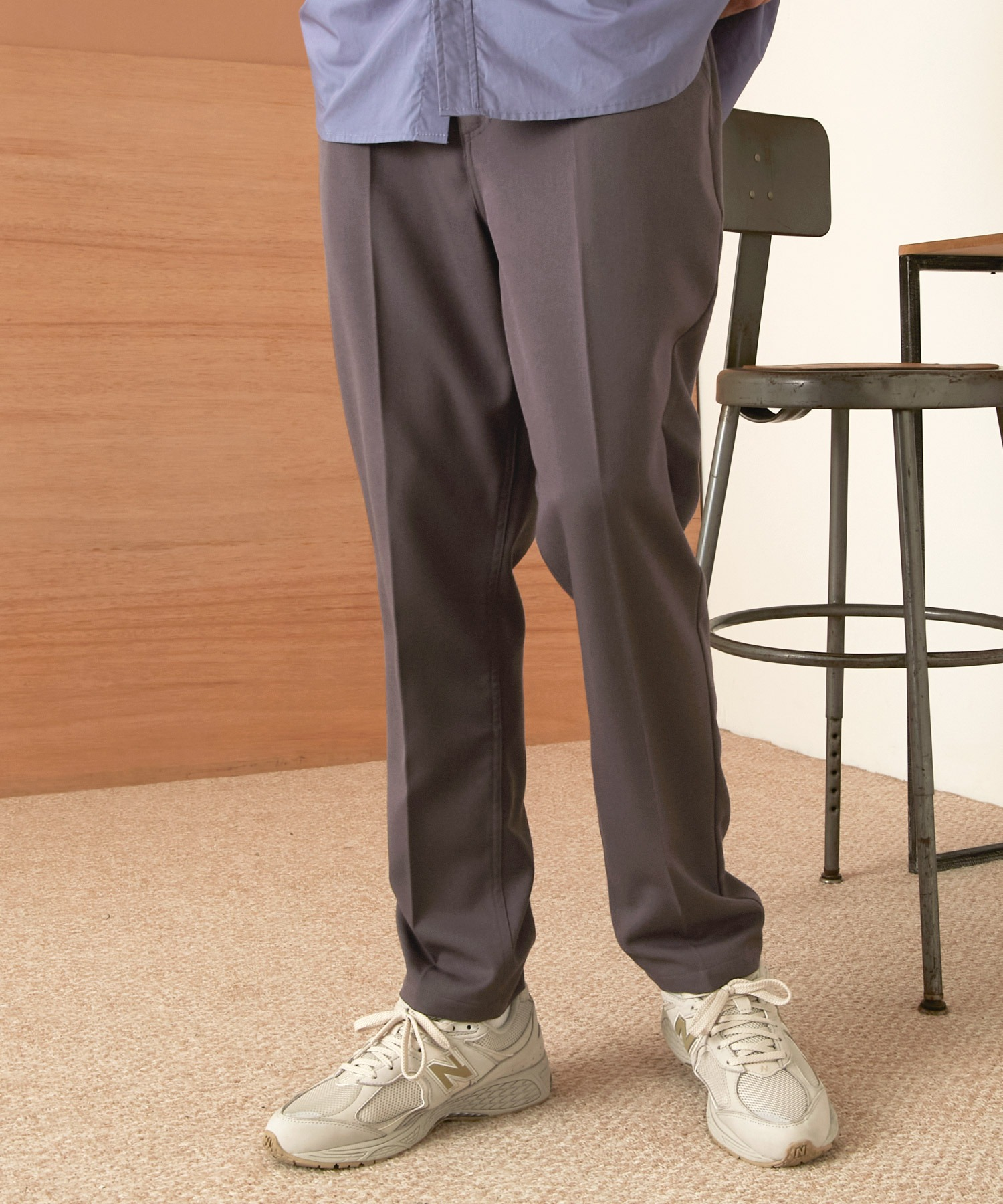 TRストレッチスリムテーパードスラックス EMMA CLOTHES 2021 SPRING