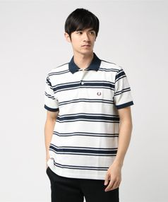 FREDPERRY 90`Sボーダーポロシャツ