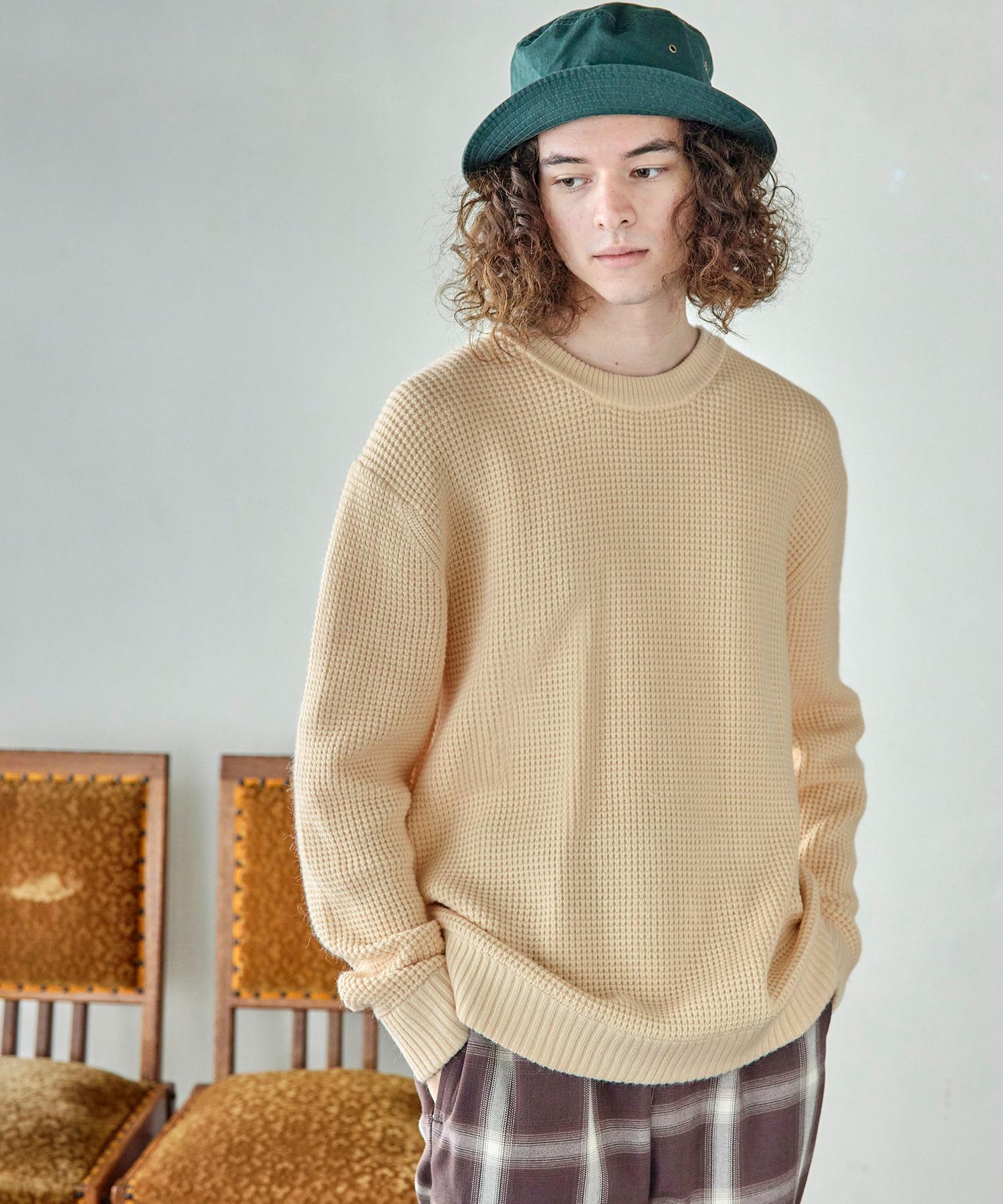 編み ワッフル