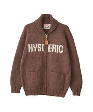 CANADIAN SWEATER×HYSTERIC/ HYSTERIC WOMAN編込カウチン