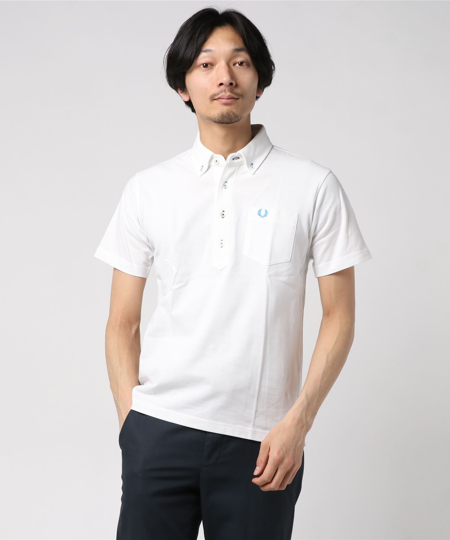 FRED PERRY ボタンダウンポロシャツ