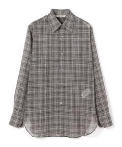 AURALEE / シアーチェックシャツ