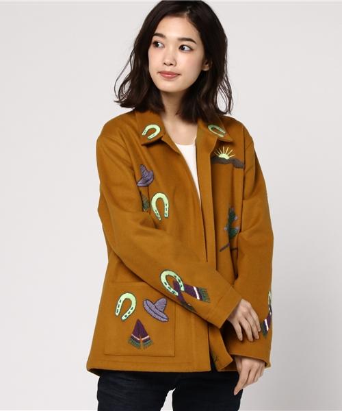 LUPE 刺繍ジャケット