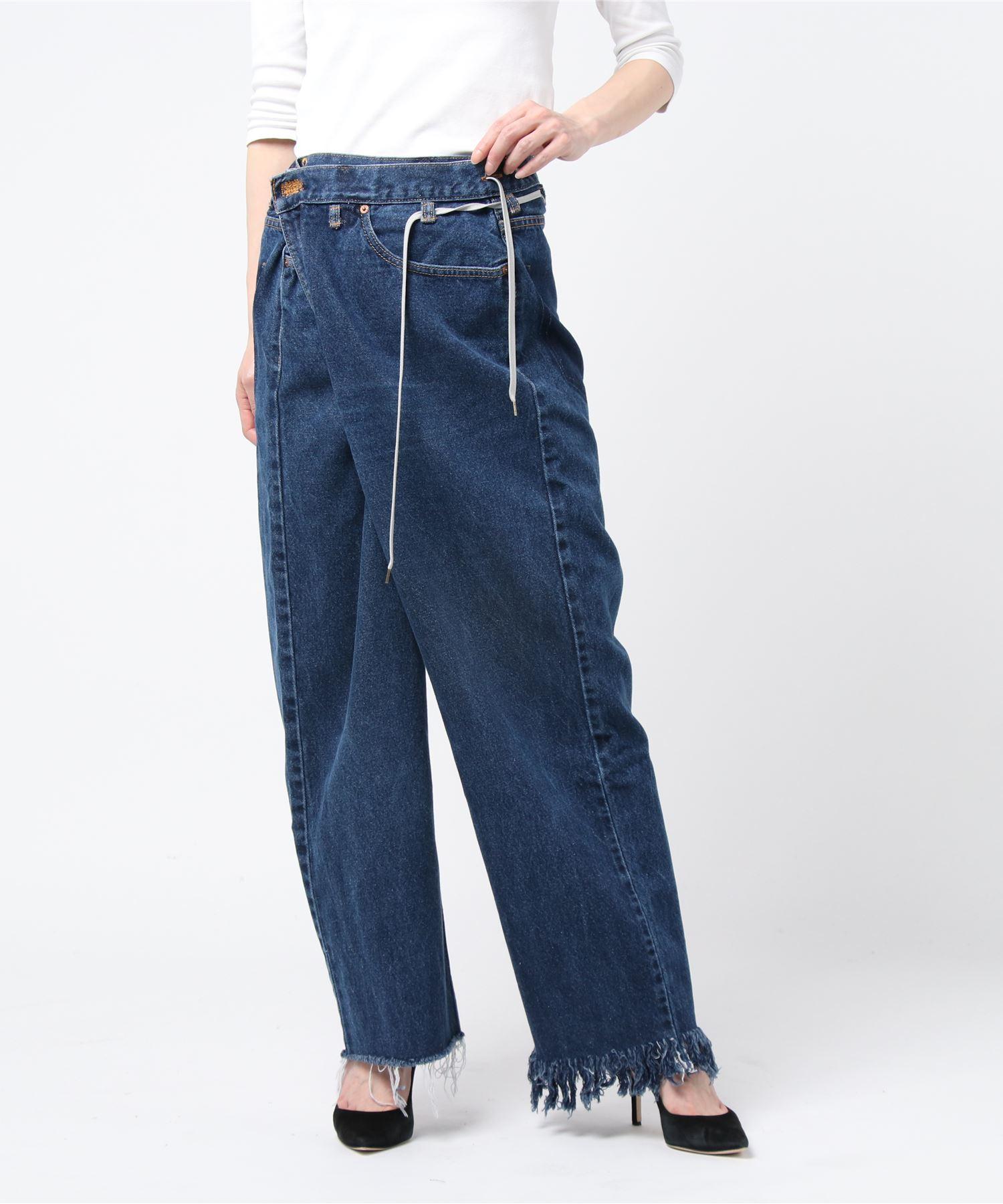 メゾンエウレカ MAISON EUREKA / デニムパンツ Vintage Rework Biggy Pants