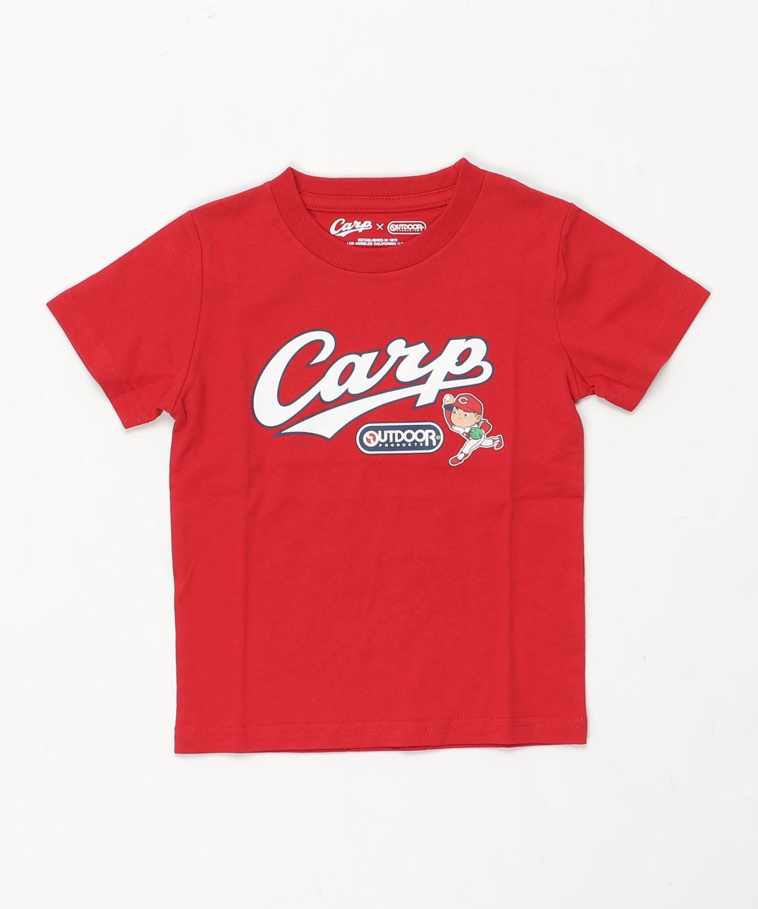 KIDSカープコラボT2/CARPロゴ/カープ坊や