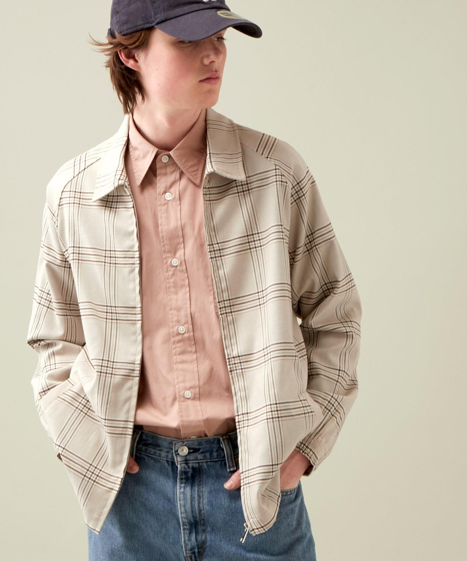 スイングトップ ジップブルゾン (EMMA CLOTHES)