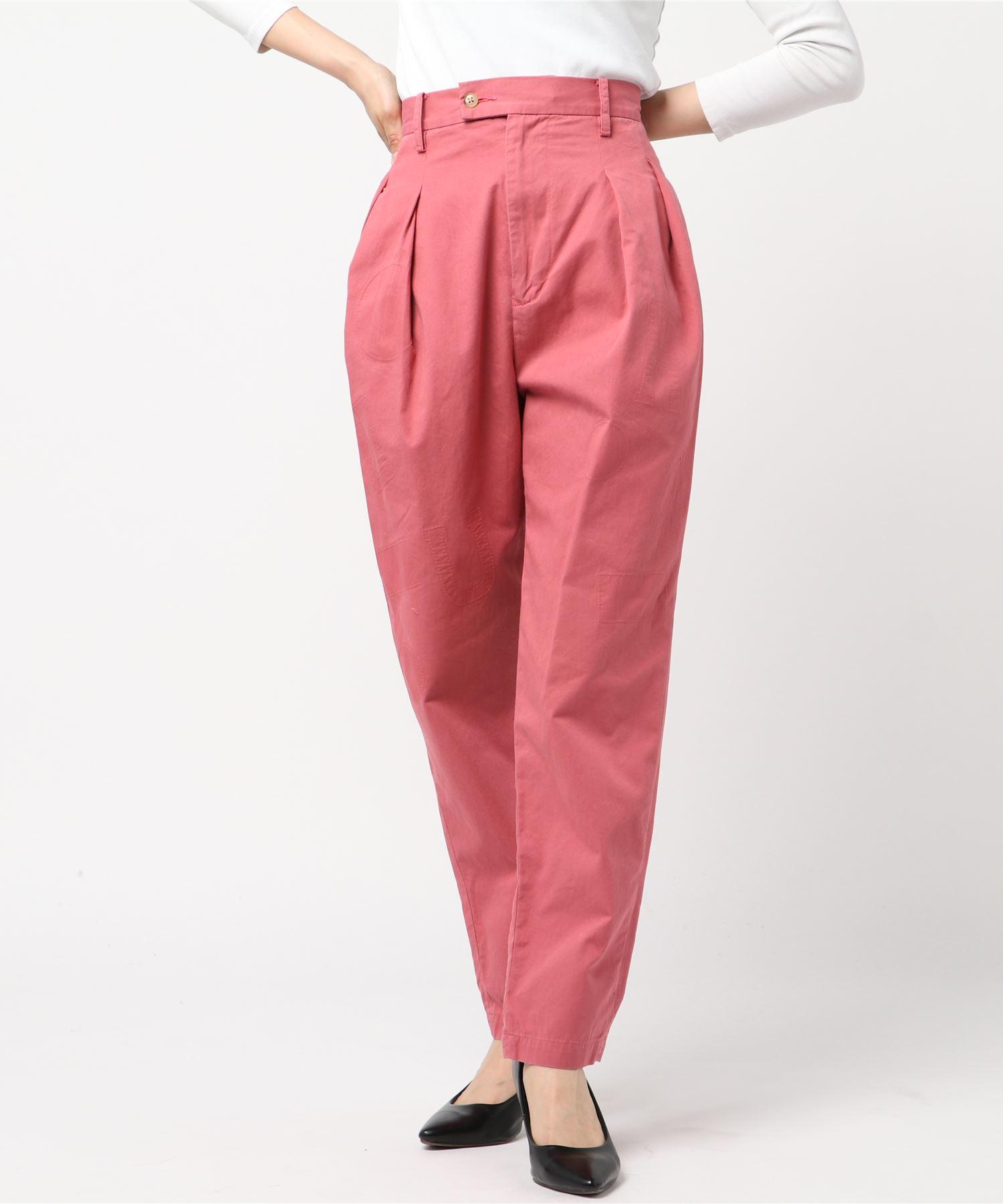 メゾンエウレカ MAISON EUREKA / スラックス Burberry Cloth Tuck Pants