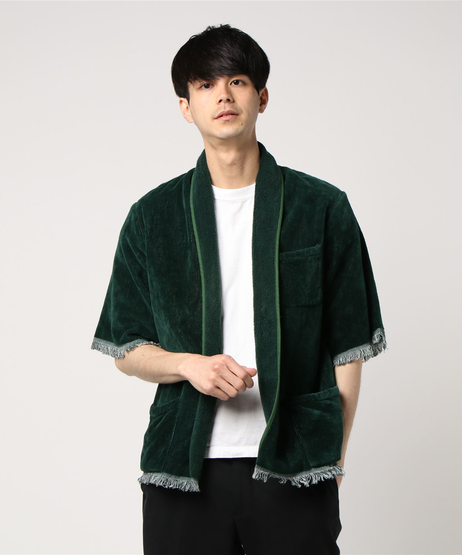 FILL THE BILL for AMERICAN RAG CIE フィルザビル / TOWEL BEACH JACKET