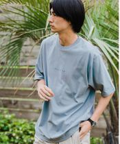 <green label relaxing>RELAXINGプリント クルーネック [Tシャツ]