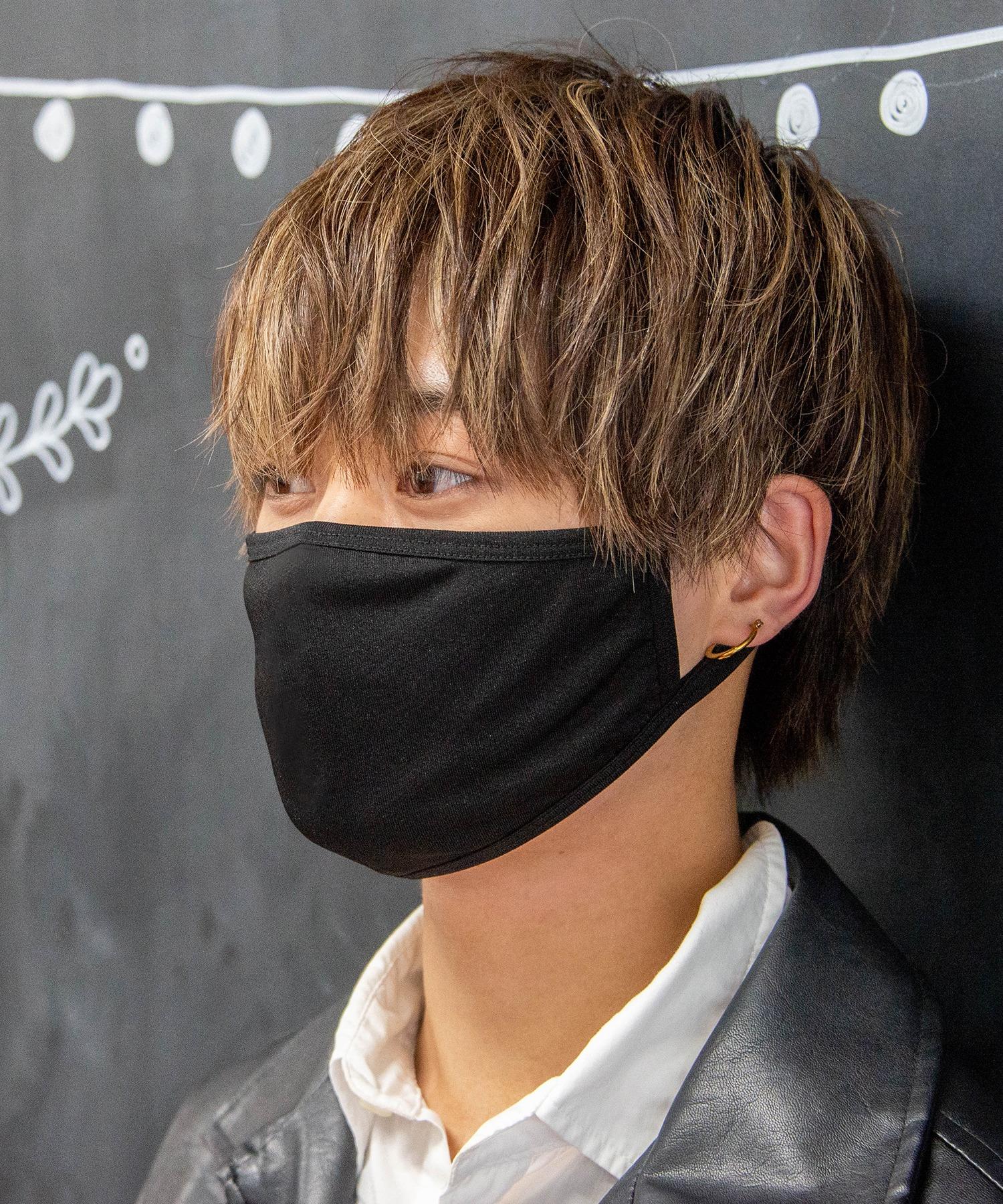 【即納】洗えるマスク 3枚セット 繰り返し洗える水着素材 速乾性夏用マスク<冷感>