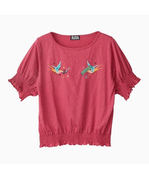 HYS BIRD刺繍 プルオーバー