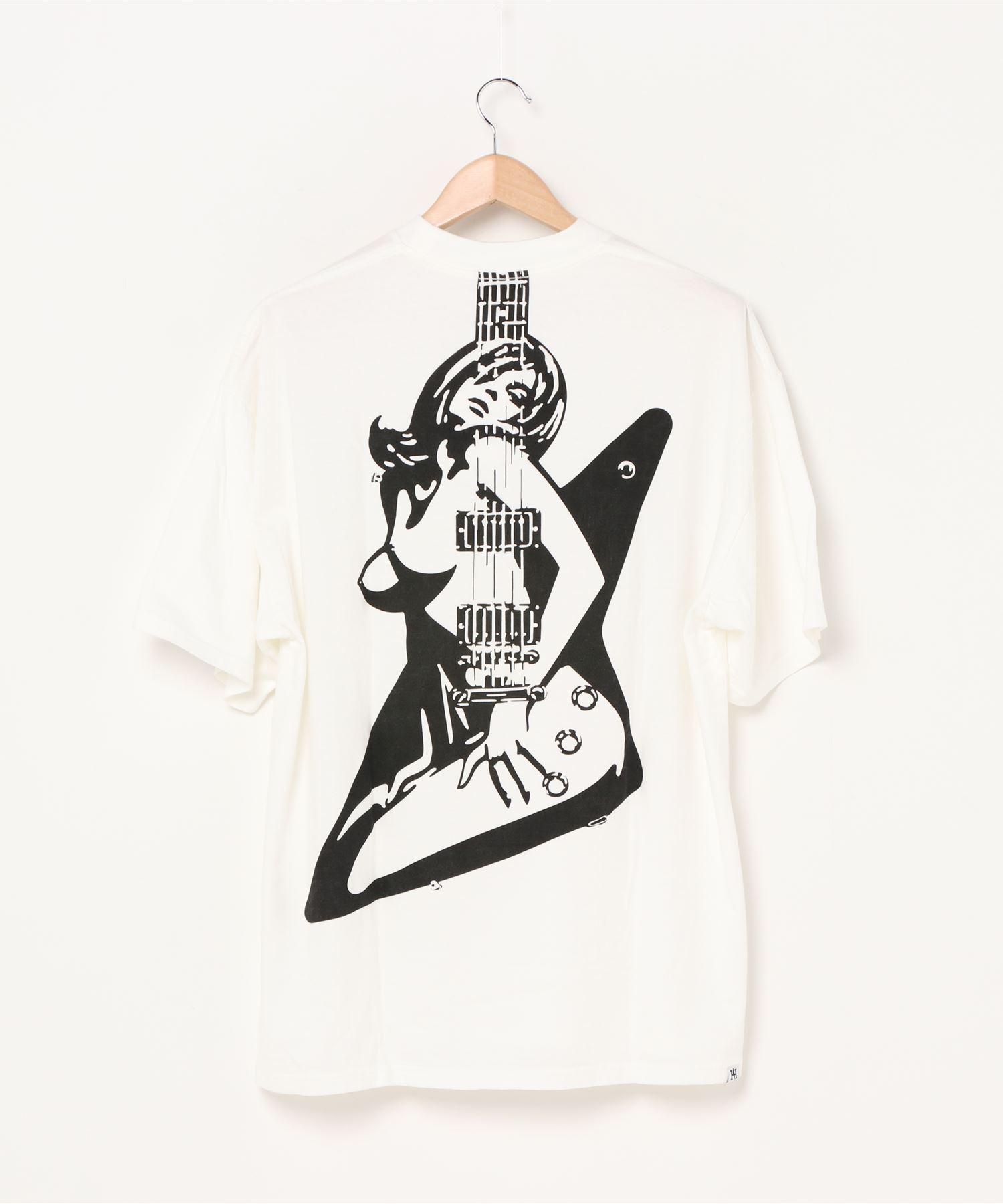 GUITAR GIRL オーバーサイズTシャツ