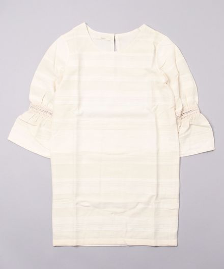 【SESSUN】ABBEY GATTHERED SLEEVES DRESS