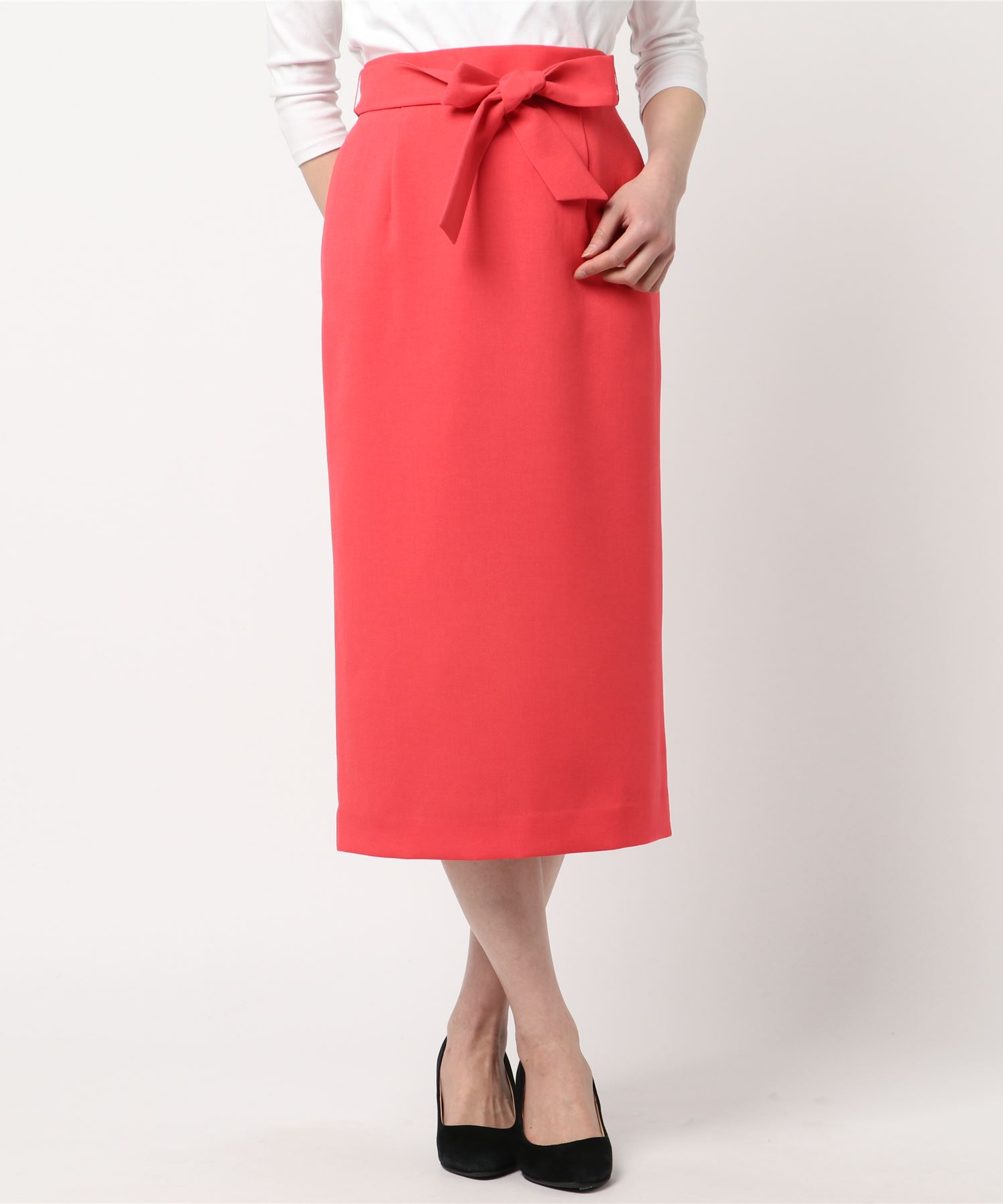 【Dignite collier】カラータイトスカート