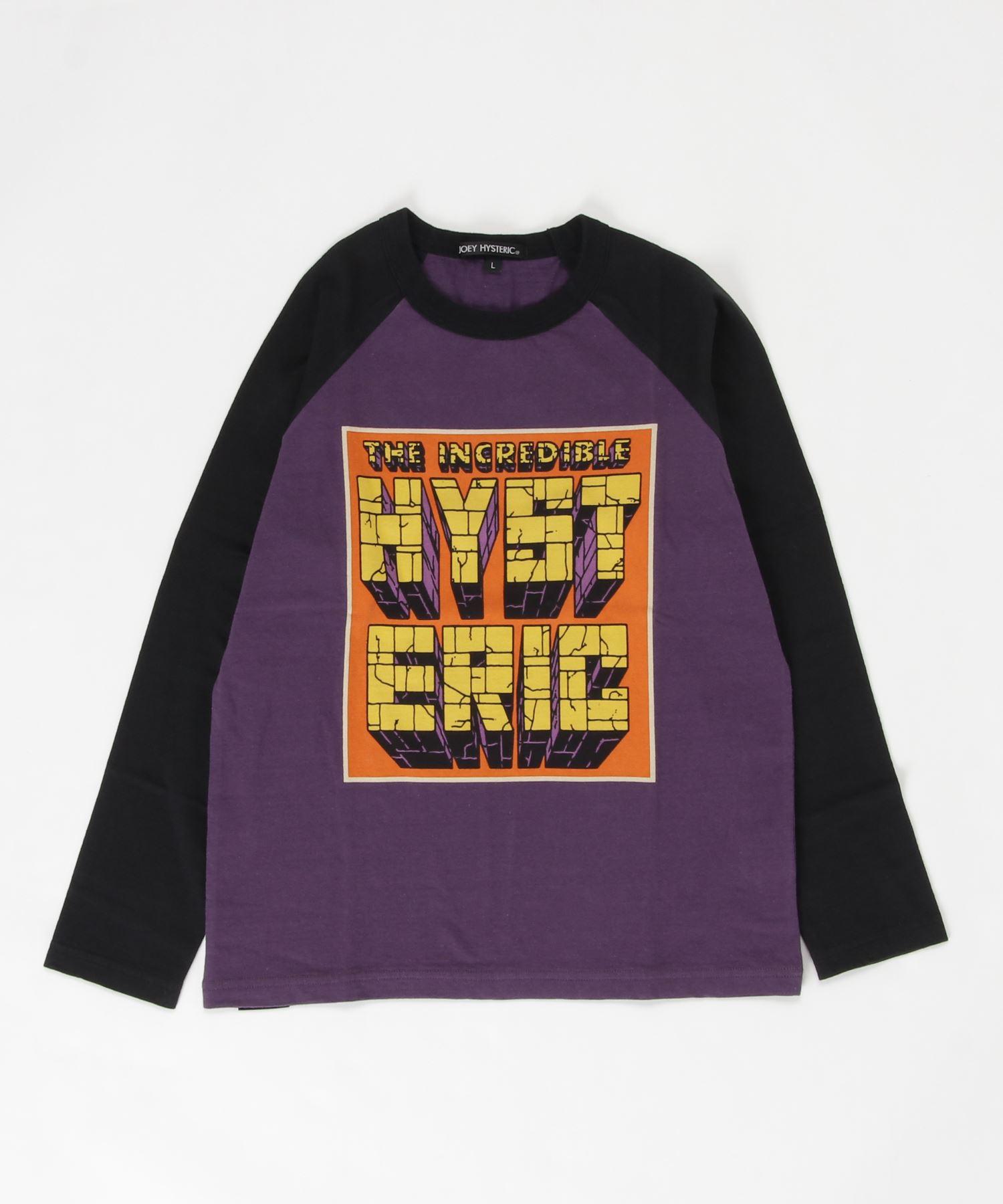 HERO COMICS 7分袖Tシャツ【L】