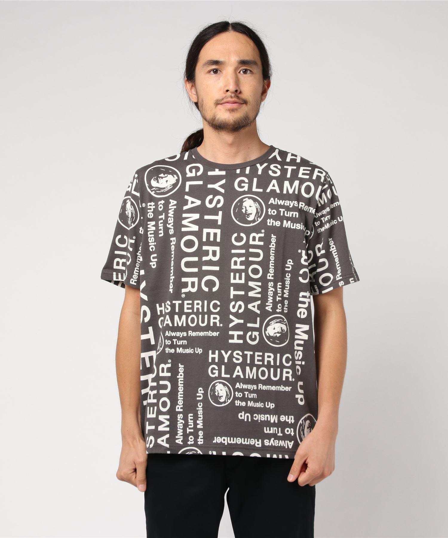 CIRCLE HEAD総柄 Tシャツ