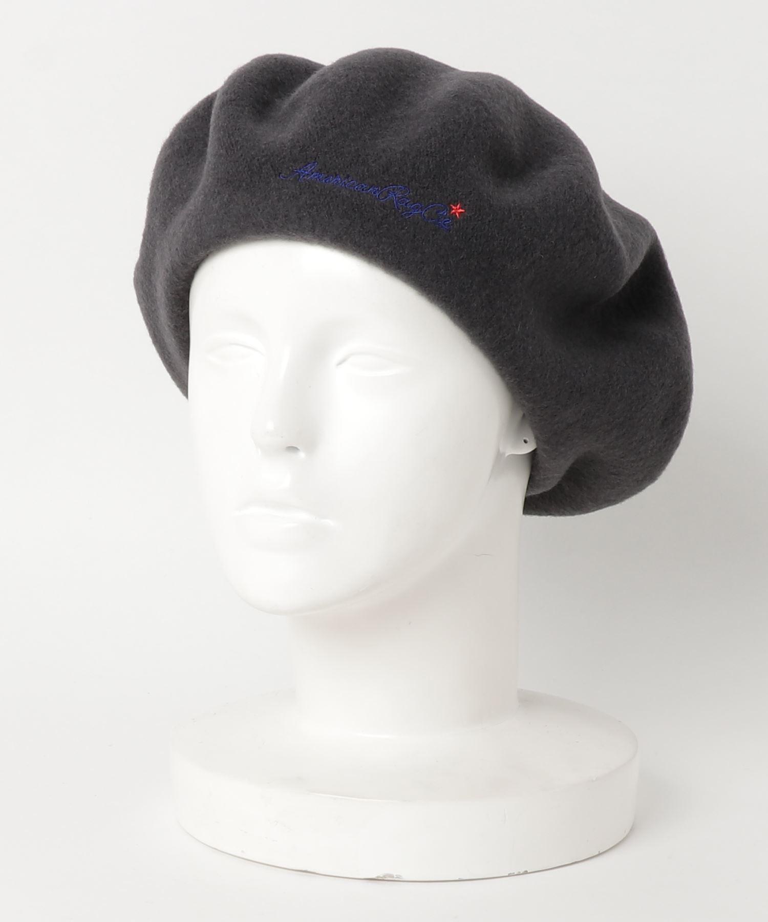 アメリカンラグシー AMERICAN RAG CIE / ARCスクリプトロゴエンブロイダリーウールベレー ARC Script Logo Embroidery Wool Beret