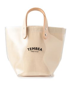 """TEMBEA / """"DELIVERY TOTE SMALL PVC"""" トートバッグ"""