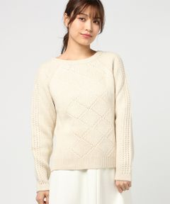 【SESSUN】MALANG BUTTONS IN BACK SWEATER