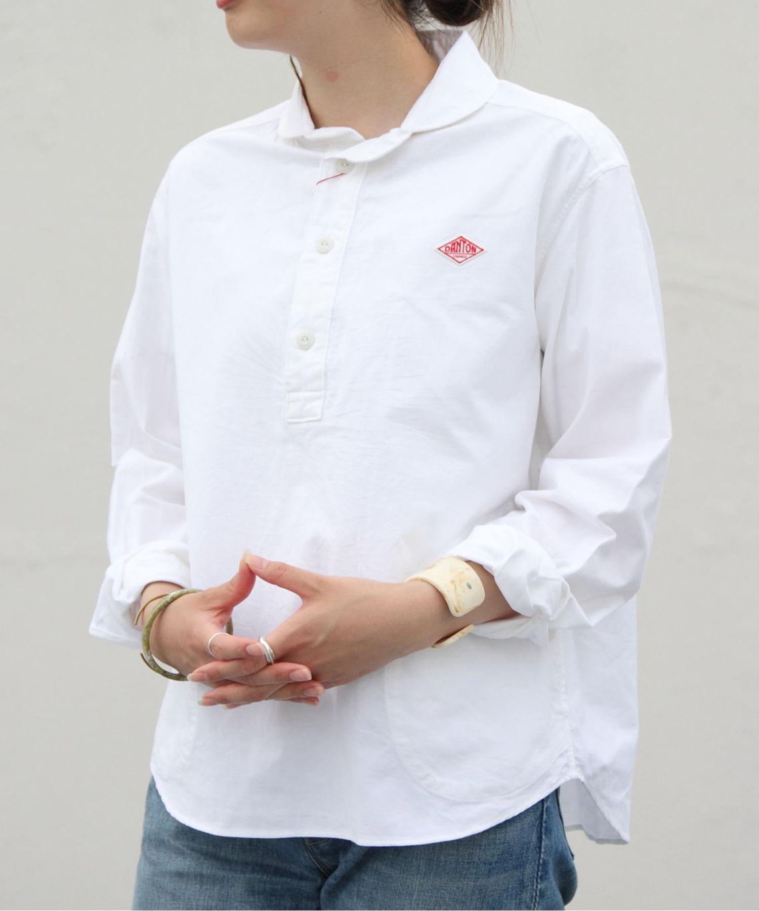 DANTON/ダントン オックスプルオーバーシャツ OX PULLOVER SHIRT JD-3564YOX(ウィメンズ)
