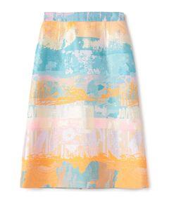 ESTNATION / カラージャガードAラインスカート